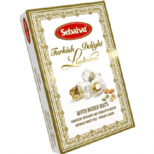 Sebahat Mixed Nuts Turkish Delight 250G